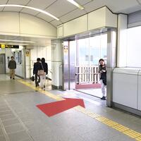 大阪市営地下鉄中央線「朝潮橋」駅下車後、④出口(右)にお進み下さい。