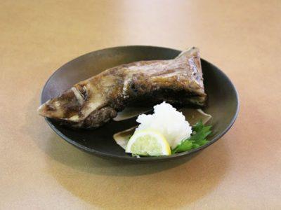マグロかまトロ塩焼き