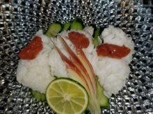 朝閉めハモの湯引き、天ぷら